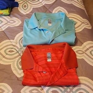 Pair of Golf Airflux polo
